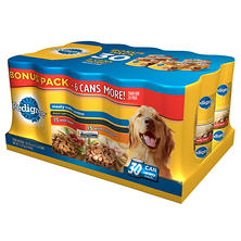 Pedigree Choice Cuts in Gravy Wet Dog Food, Bonus Pack (13.2 oz., 30 ct.)
