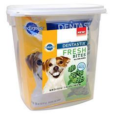 Pedigree Dentastix Fresh Bites, All Dog Sizes (2 lb)