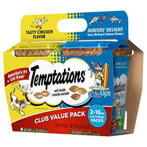Temptations Cat Treats, Club Value Pack (16 oz., 2 pk.)