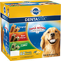 Pedigree DentaStix Dog Treats, Variety Pack (3.34 lbs., 62 ct.)