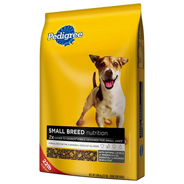 Pedigree Small Breed Dry Dog Food - 22 lbs.