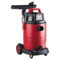 Electrolux Sanitaire 8 Gal. Commercial Wet Dry Vacuum - Red