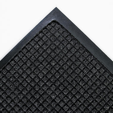 "Crown Super-Soaker Wiper/Scraper Mat - 45"" x 67"" - Charcoal"