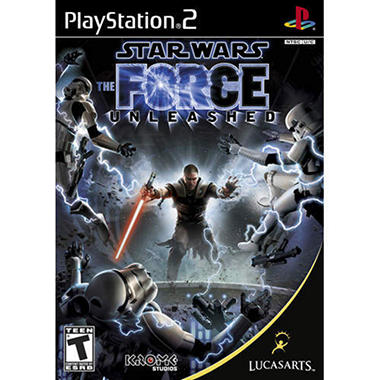 Star Wars: The Force Unleashed - PS2