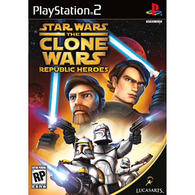 Star Wars� The Clone Wars: Republic Heroes - PS2