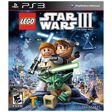 LEGO Star Wars III: The Clone Wars - PS3