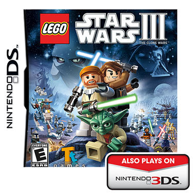 LEGO Star Wars III: The Clone Wars - DS