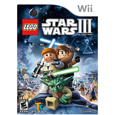 LEGO Star Wars III: The Clone Wars - Wii
