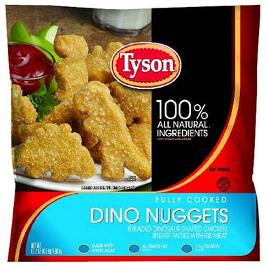 Tyson� Dino Nuggets? - 67.2oz