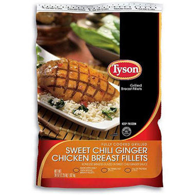 Tyson® Sweet Chili Ginger Breast - 36oz bag