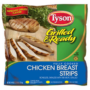 Tyson Grilled & Ready Chicken Breast Strips (44 oz.)
