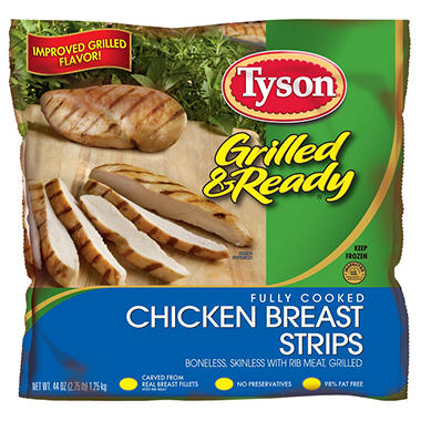 Tyson® Grilled Chicken Breast Strips