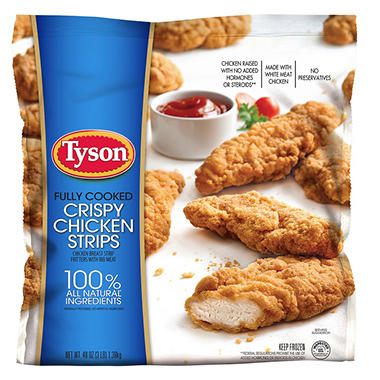 Tyson� Crispy Chicken Strips - 3 lb. bag