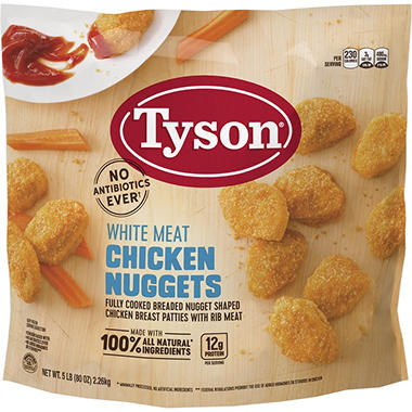 Tyson Chicken Nuggets (5 lbs.)