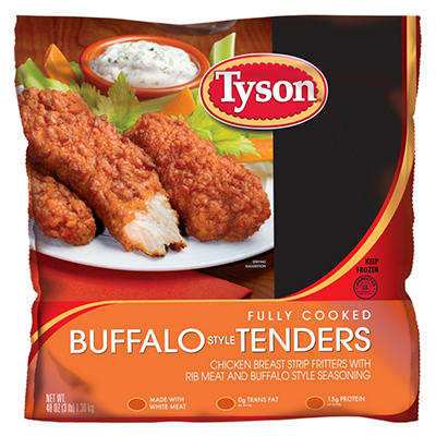 Tyson Buffalo Tender - 3lbs