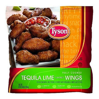 Tyson Tequila Lime Wings - 5 lbs.