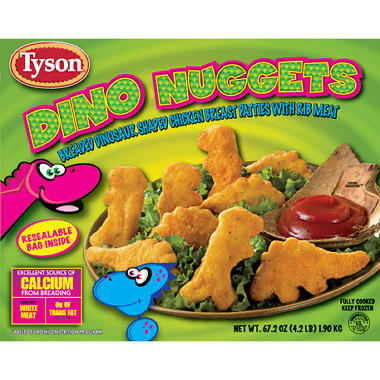 Tyson Dino Nuggets - 67.2 oz.