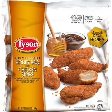 Tyson Honey BBQ Flavored Chicken Breast Tenders (3.5 lb ...