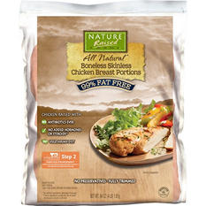 Nature Raised Farms All Natural Boneless Skinless Chicken Breast Portions (4 lb.)