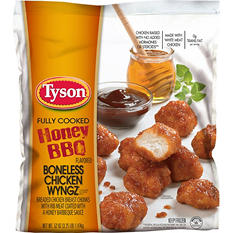Tyson Honey BBQ Boneless Chicken Wyngz (3.25 lb.)