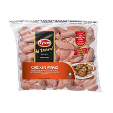 Tyson Uncooked Chicken Wings (10 lb.)