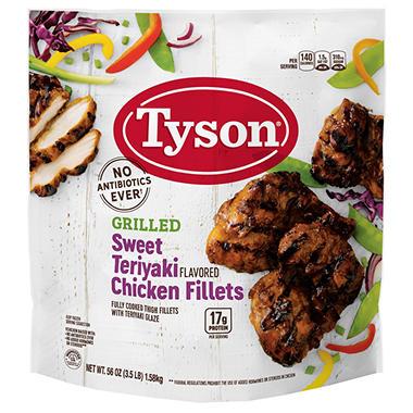 Tyson® Teriyaki Chicken Filets - 3.5lb