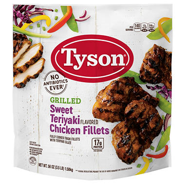 Tyson� Teriyaki Chicken Filets - 3.5lb