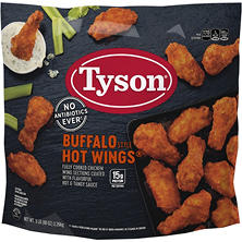 Tyson Buffalo Style Hot Wings (80 oz.)