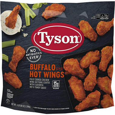 Tyson� Buffalo Hot Wings - 5lbs