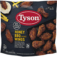 Tyson Honey BBQ Flavored Chicken Wings (80 oz.)