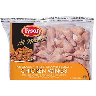 Tyson IQF Chicken Wings - 10 lbs.
