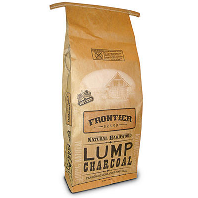 Frontier Natural Hardwood Lump Charcoal (20 lbs.)