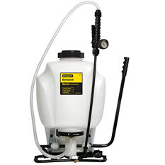 Stanley Backpack Sprayer - 4 gal. capacity