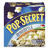 Pop Secret Microwave Popcorn, Homestyle (1.2 oz bags, 10 pk.)