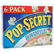 Pop Secret� Microwave Popcorn - Homestyle - 6 bags