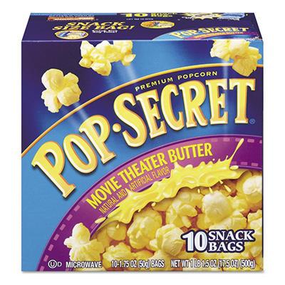 Pop Secret Microwave Popcorn, Movie Theatre Butter (1.75 oz. bags, 10 pk.)