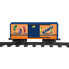 Lionel Trains Crayola G-Gauge Ready to Run Set