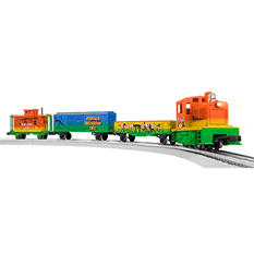Lionel Trains Dinosaur Diesel LionChief Plastic O-Gauge Ready to Run Set