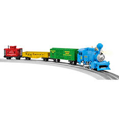 Lionel Trains Junction Little Steam LionChief Plastic O-Gauge Ready to Run Set
