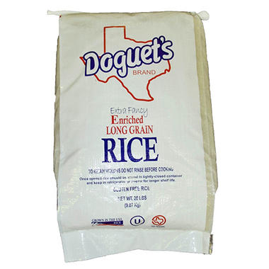 Doguet's Long Grain White Rice - 20 lb.