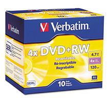 DISC DVD+RW4X 10/PK