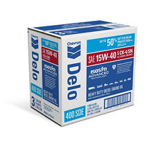 Delo 400LE SAE 15W40 Heavy Duty Motor Oil- 1 Gallon Bottles - 3 Pack