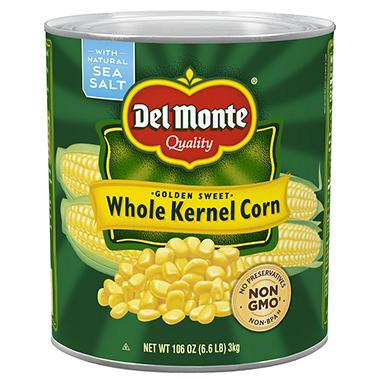 Del Monte Whole Kernel Corn - 106 oz. can