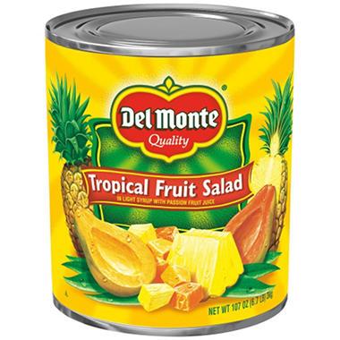 Del Monte Tropical Fruit Salad - 107 oz. can