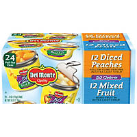 Del Monte Lite Fruit Cups Variety (4 oz. cups, 24 pk.)