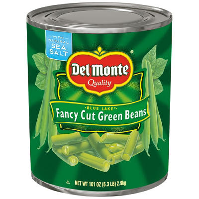 Del Monte Fancy Cut Green Beans - 101 oz. can