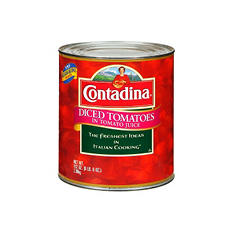 Contadina® Diced Tomatoes - 102 oz.