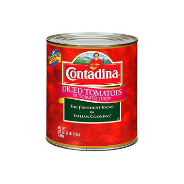 Contadina� Diced Tomatoes - 102 oz.