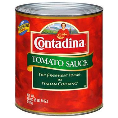 Contadina® Tomato Sauce - 105 oz. can