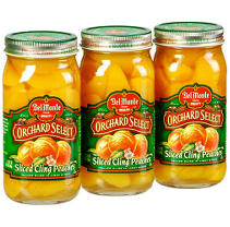 Del Monte® Sliced Cling Peaches - 3/24 oz. jars